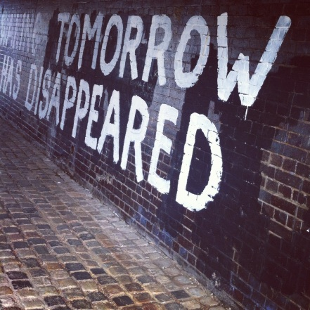 tomorrow disappeared, street art in east london