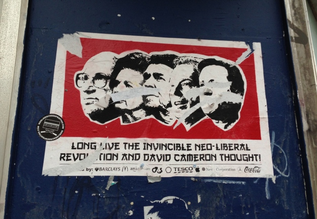 Pseudo Tory revolutionary art, Brighton