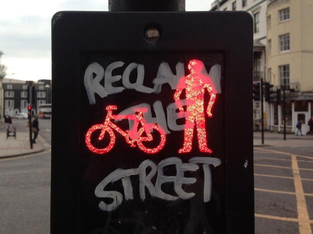 reclaim the street graffiti