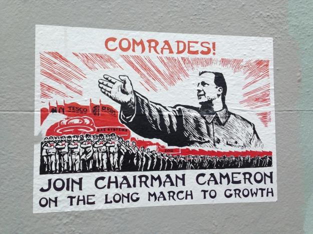 satirical pro-tory revolutionary art