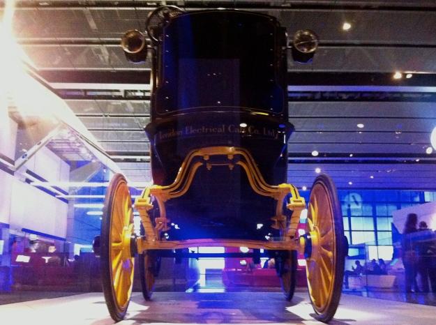 Science Museum electric cab