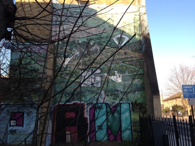City Garden Mural, Hoxton.