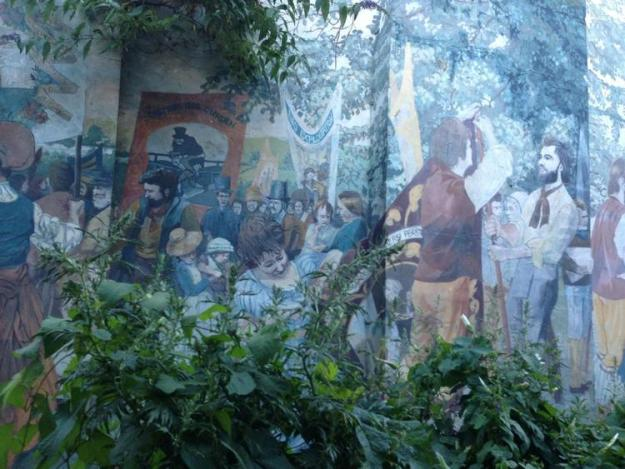 Tolepuddle mural, Islington