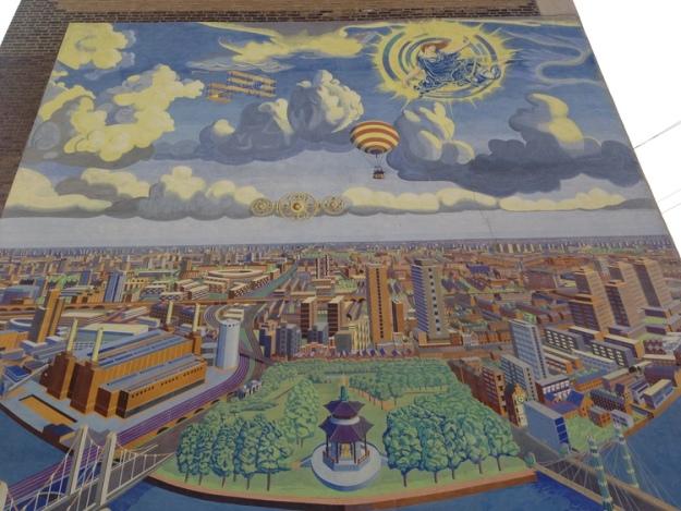 Battersea in Perspective, top.